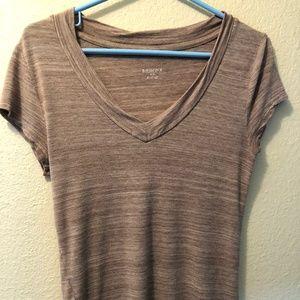 Beige and cream V-neck Merona Shirt